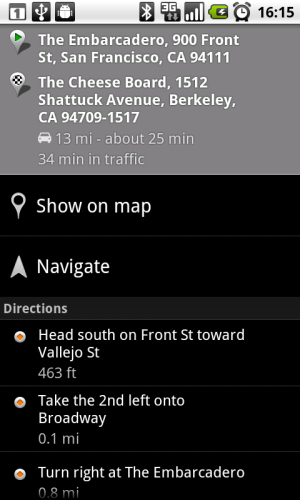 android 2.2 froyo maps cloud to device messaging api