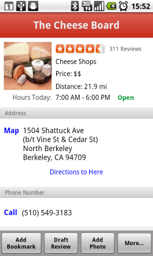 android 2.2 froyo yelp application cloud to device messaging