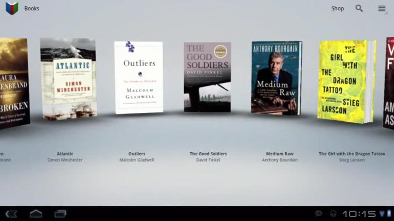 Android 3.0 Honecomb Google books